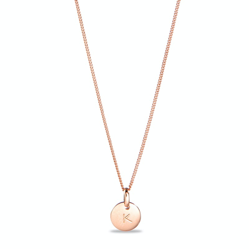 Coin Necklace Small Goud