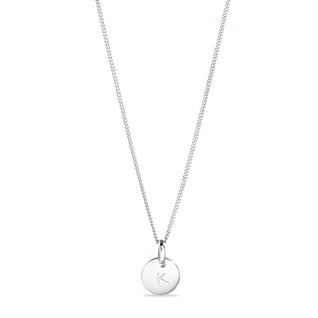 Coin Necklace Small Zilver