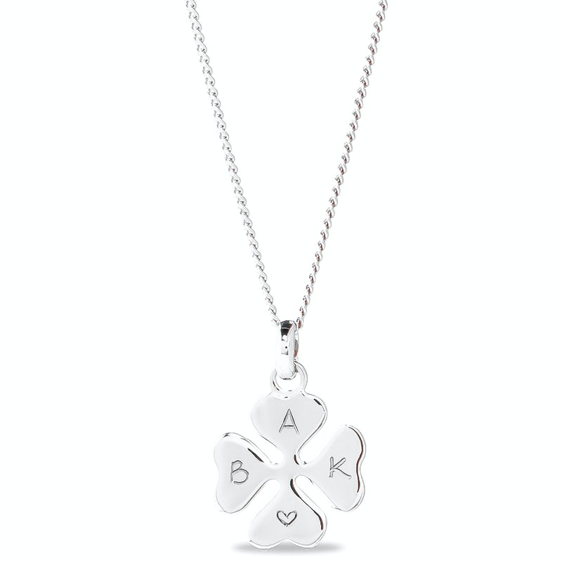 Lucky Charm Ketting Zilver