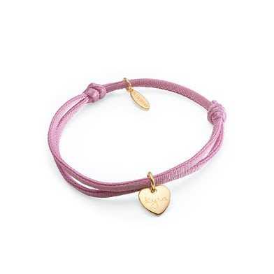 Stretch armband Heart small goud