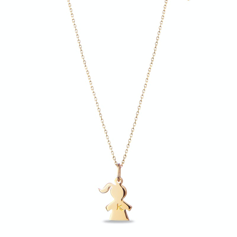 The Girly Necklace Verguld