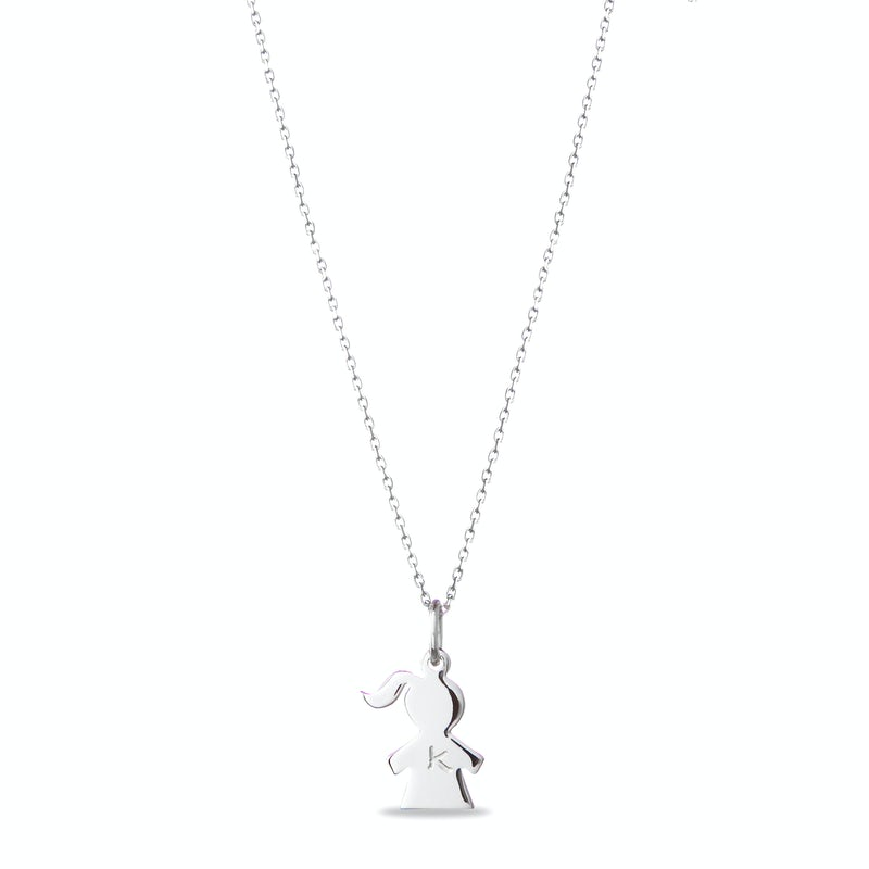 The Girly Necklace ZILVER