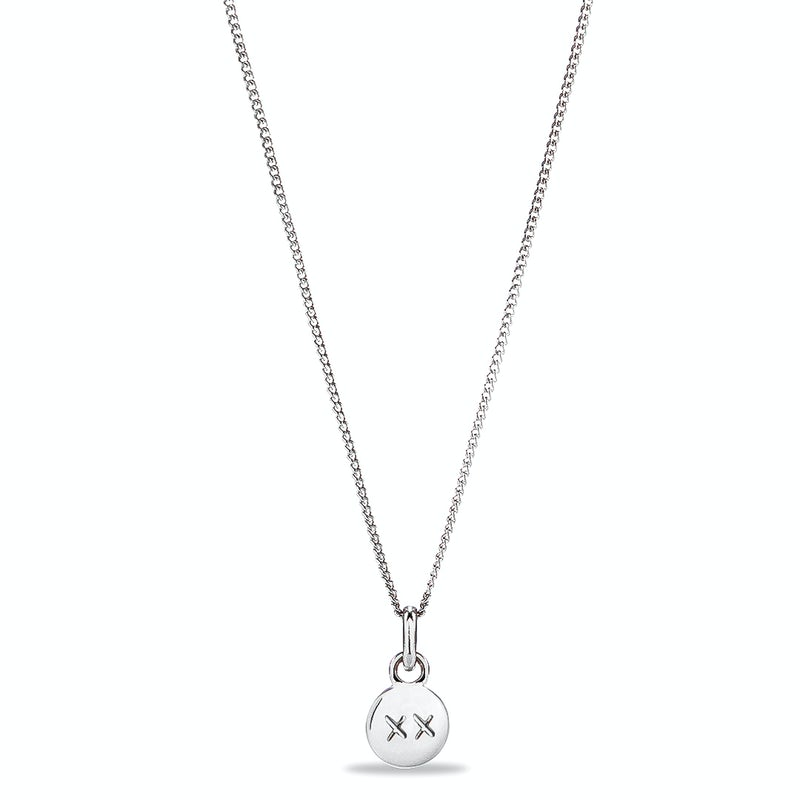 Tiny Charm Ketting Zilver