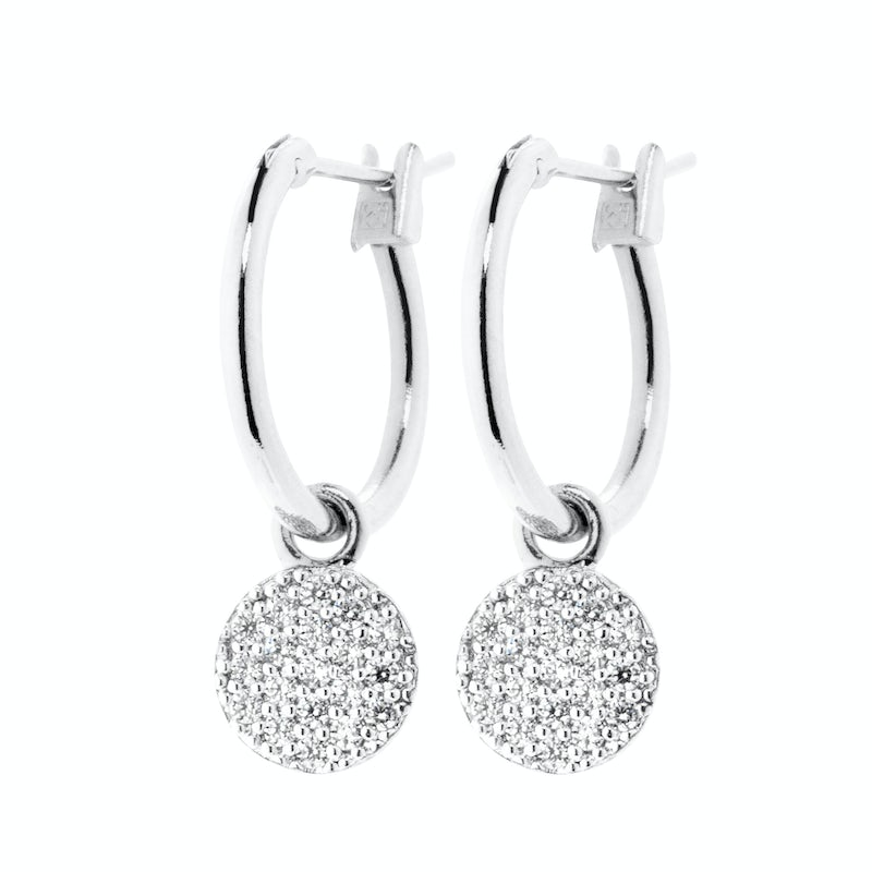 Tiny Sparkle Earring Zilver 3 0