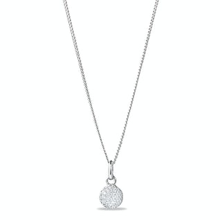 Tiny Sparkle Ketting Zilver