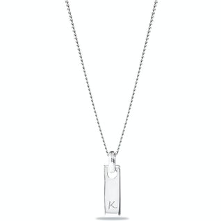 Tiny Tag Ketting Zilver