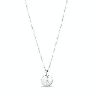 Candy necklace zilver